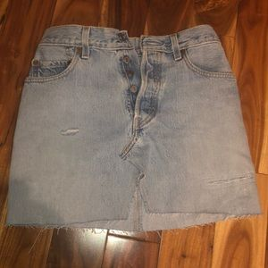 Vintage Levi's Denim Skirt